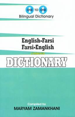 English-Farsi & Farsi-English One-to-one Dictionary - Script & Roman (Hardback)