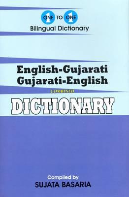 English-Gujarati & Gujarati-English One-to-One Dictionary - Script & Roman (Hardback)
