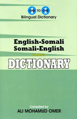 English-Somali & Somali-English One-to-one Dictionary (Hardback)