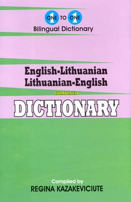 English-Lithuanian & Lithuanian-English One-to-one Dictionary (Hardback)