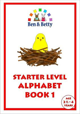 Starter Level Alphabet: Bk. 1 (Spiral bound)