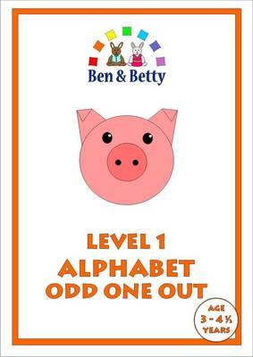 Level 1 Alphabet Odd One Out (Spiral bound)