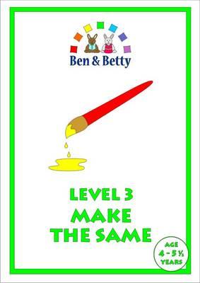 Level 3 Make the Same (Spiral bound)
