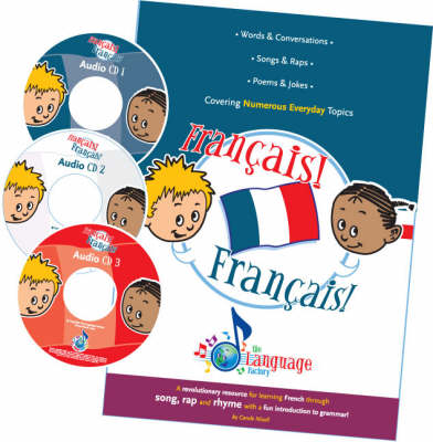 The Language Factory: Francais! Francais! - Book & CDs (3)