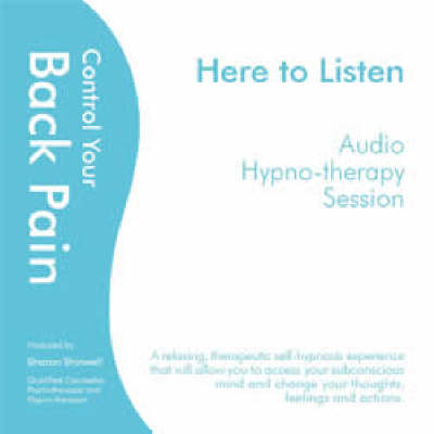 Control Your Back Pain (CD-Audio)
