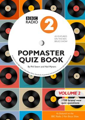 BBC Radio 2 Popmaster Quiz Book 2: 1700 Brand New Quiz Questions: Book 2 (Paperback)