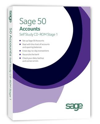 Sage 50 Accounts Self Study V18.00: Stage 1 (CD-ROM)