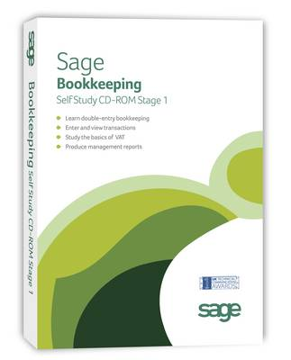 Sage Bookkeepping Self Study V18.00: Stage 1 (CD-ROM)