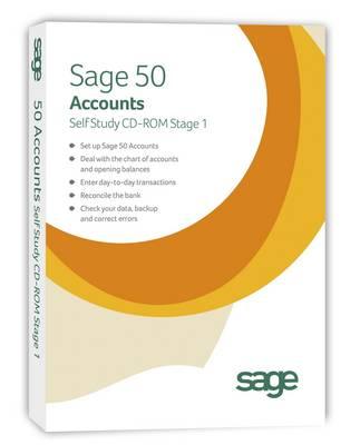 Sage 50 Accounts 2013 Self Study (CD-ROM)