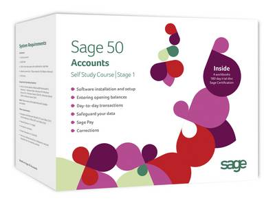 Sage 50 Accounts 2014 Workbooks: Stage 1: Stage 1 (CD-ROM)