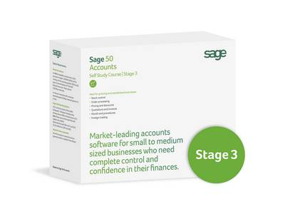 Sage 50 Accounts: Volume 21: Stage 3 with Certification (CD-ROM)