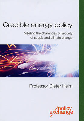Credible Energy Policy: Meeting the Challenges of Security of Supply and Climate Change (Paperback)