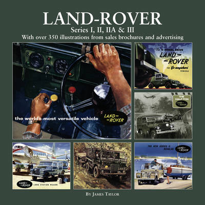 Land Rover Series I, II, IIA & III (Hardback)