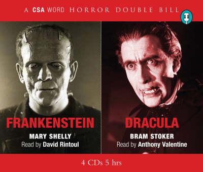"""Dracula"" and ""Frankenstein"": Horror Double Bill (CD-Audio)"