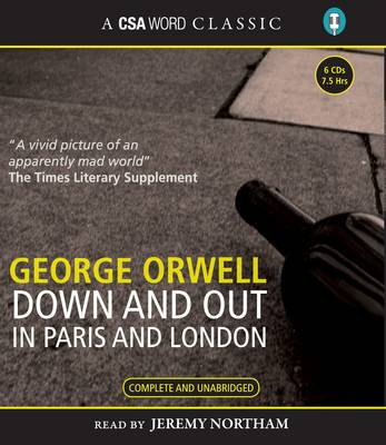 Down and Out in Paris and London (CD-Audio)