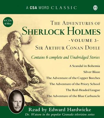 The Adventures of Sherlock Holmes: v. 3 (CD-Audio)