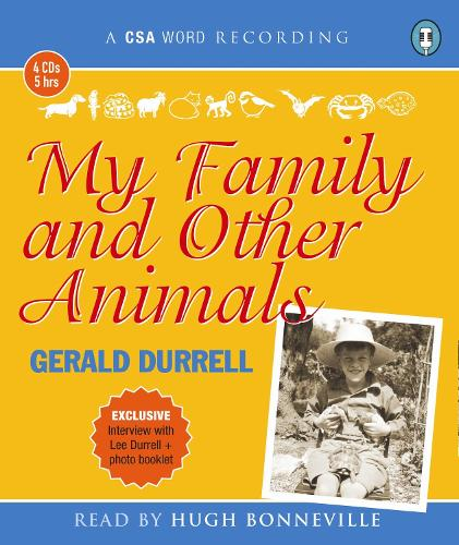 My Family and Other Animals (CD-Audio)