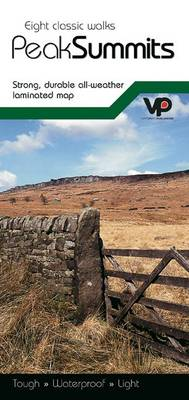 Eight Classic Walks - Peak Summits: Strong, Durable All-weather Laminated Map (Sheet map, folded)