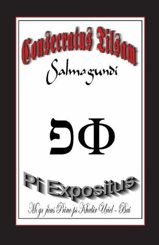 The Consecrated Talisman 'salmagundi': Bk. 1: The Pi Exponent (Paperback)