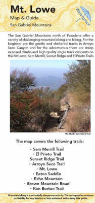 Mt Lowe Map and Guide (Sheet map, folded)