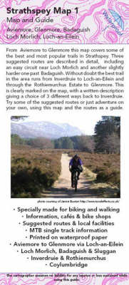 Aviemore to Glenmore Map and Guide: No. 1: Biking (MTB) and Walking Routes - Aviemore to Glenmore - Strathspey Maps and Guides No. 1 (Sheet map, folded)