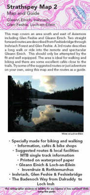 Aviemore to Gleann Einich Map and Guide: No. 2: Biking (MTB) and Walking Routes - Aviemore to Gleann Einich - Strathspey Maps and Guides No. 2 (Sheet map, folded)