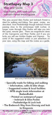 Kingussie to Glen Feshie Map and Guide: No. 3: Biking (MTB) and Walking Routes - Kingussie to Glen Feshie - Strathspey Maps and Guides No. 3 (Sheet map, folded)