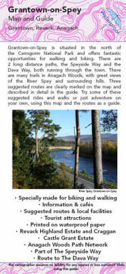 Grantown-on-spey Map and Guide: Biking (MTB) and Walking Routes Around Grantown and Anagach (Sheet map, folded)