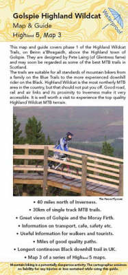 Golspie Map and Guide: Biking (MTB) and Walking Routes at Highland Wildcat Trails (Sheet map, folded)
