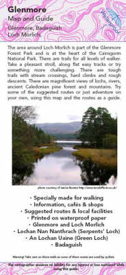 Glenmore Map and Guide: Walking Routes Around Loch Morlich (Sheet map, folded)