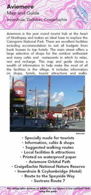 Aviemore Map and Guide: Walking, Tourist and Recreational Routes (Sheet map, folded)