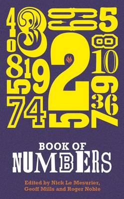 Book of Numbers: An Anthology (Paperback)