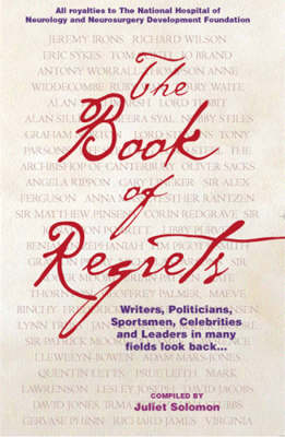 The Book of Regrets (Hardback)