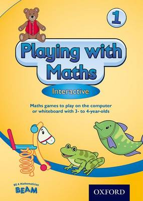 Playing with Maths Interactive 1 CD Rom (3-4 year olds) (CD-ROM)