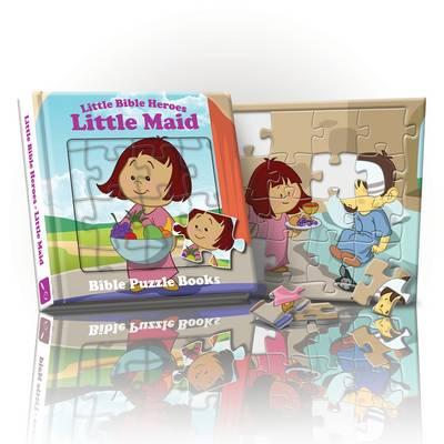 Little Bible Heroes Maid: Bible Puzzle Books (Hardback)