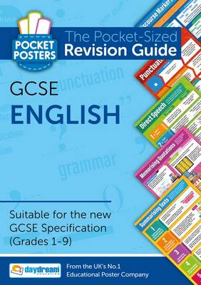 GCSE English: The Pocket-Sized Revision Guide - Pocket Posters (Paperback)