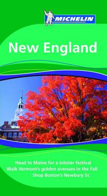 New England Tourist Guide - Michelin Green Guides 1569 (Paperback)
