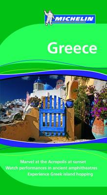 Greece Tourist Guide - Michelin Green Guides (Paperback)