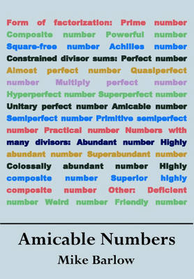 Amicable Numbers (Paperback)