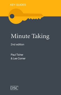 Minute Taking - Key Guides (Paperback)