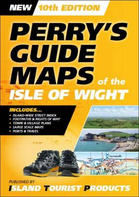 Perry's Guide Maps of the Isle of Wight (Paperback)