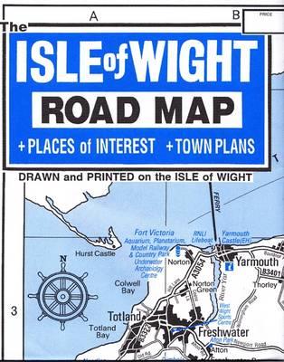 Isle of Wight Tourist Map (Sheet map)