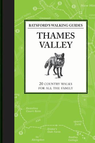 Batsford's Walking Guides: Thames Valley (Paperback)