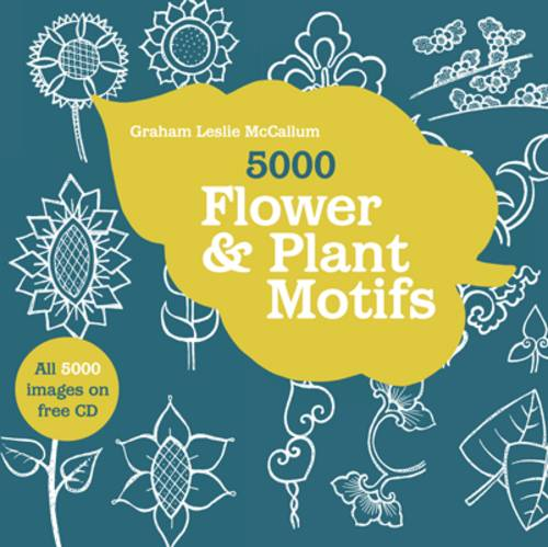 5000 Flower and Plant Motifs (Paperback)