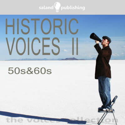 Historic Voices: 50s and 60s v. 2 (CD-Audio)