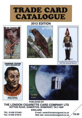 Trade Card Catalogue 2012 (Paperback)