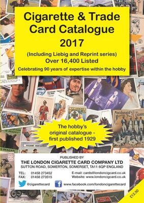 Cigarette and Trade Card Catalogue 2017: Including Liebig and Reprint Series (Paperback)