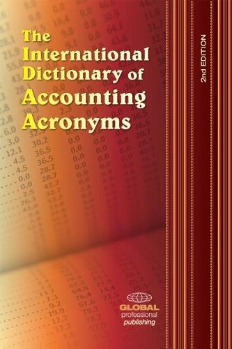 International Dictionary of Accounting Acronyms (Paperback)