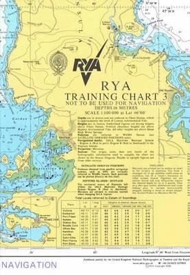 RYA Training Chart: No. 3 (Sheet map, folded)