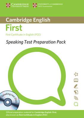 Speaking Test Preparation Pack for FCE Paperback with DVD - Speaking Test Preparation Pack